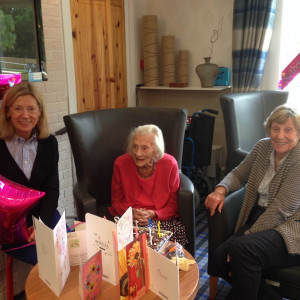 Curry loving 103-year-old Margaret Phillips