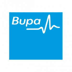 The logo of health and care provider Bupa. Holyrood PR in Edinburgh handles public relations for 30 Bupa care homes in Scotland