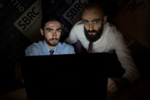 PR photography demonstares new partnership for SBRC