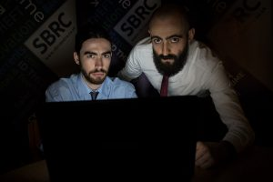 Tech PR photography for the Scottish Business Resilience Centre, SBRC