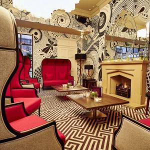 PR photography of Tigerlily Hotel in Edinburgh, Scotland