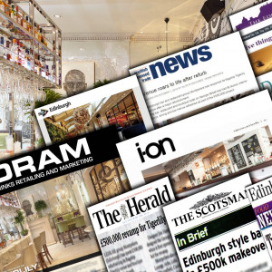 Hotel PR coverage success montage of Tigerlily's relaunch in Edinburgh