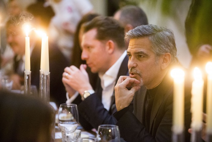 Food and drink PR photography for Tigerlily amid George Clooney visit