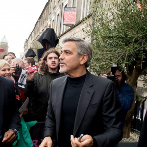 George Clooney visits Tigerlily in Edinburgh in Food and drink PR photography.