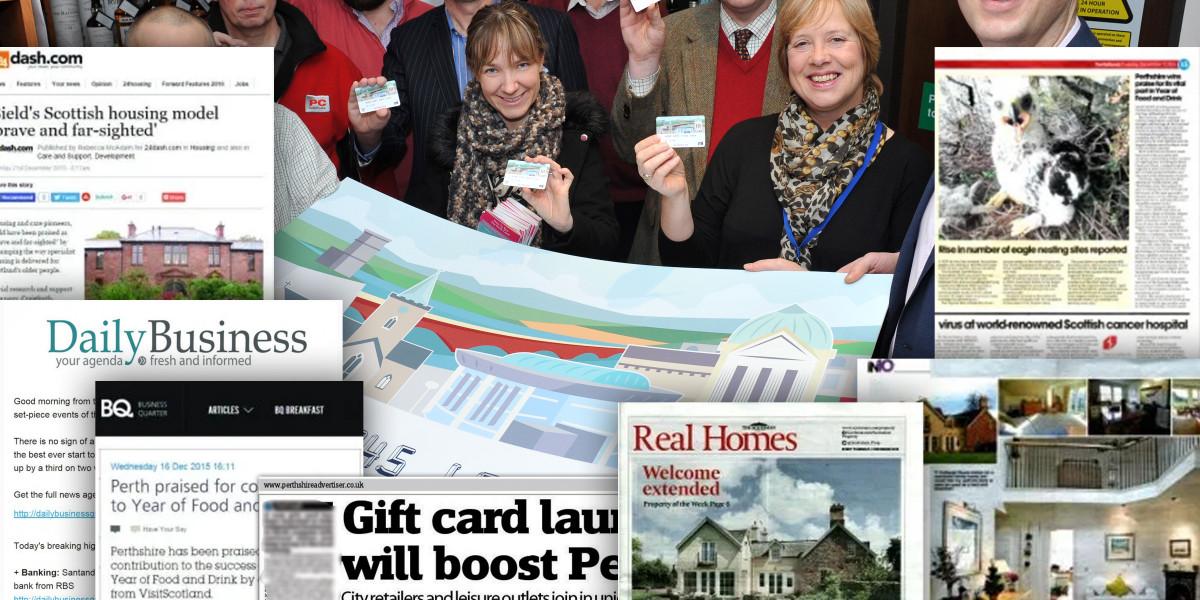 Invest in Perth PR Media Success Montage January