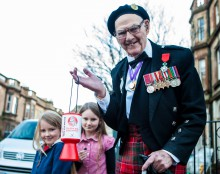 Edinburgh Fundraising Veteran needs to raise his own funds for n