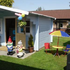 Bupa care home colourful Summerhouse