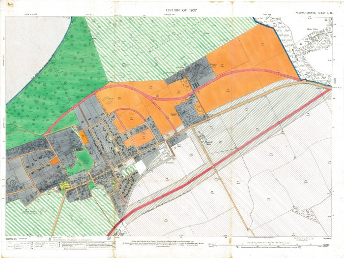 A 110 year old planning document for the expansion of Gullane and CALA Homes wishes to do so