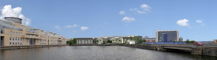 Image of CALA Homes proposed development at Leith Docks