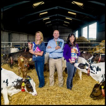 Mackie's of Scotland Cowshed PR photography