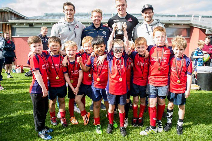 North Berwick Minis Rugby Team