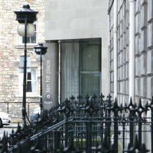 Exterior of Ten Hill Place, Edinburgh