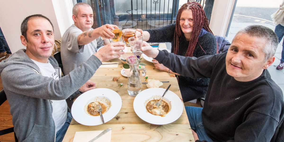 Food and Drink PR photographs at Maison Bleue