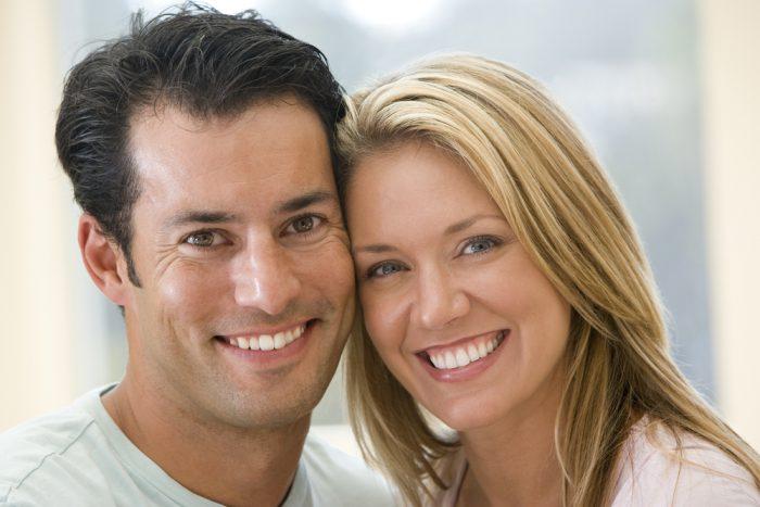 Young Couple after Treatment - Edinburgh PR