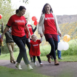 Charity PR photography for charity working with sick kids hospital