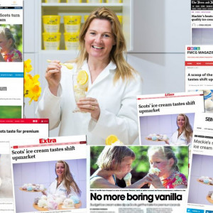 Some of the coverage Mackie's received thanks to our Food and Drink PR