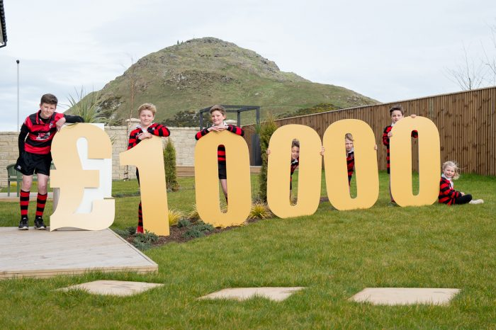 PR photography for launch of CALA Homes £10,000 community bursary as part of a story from Property PR experts