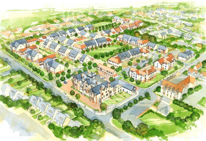 An artist's impression of Gullane Development a part of property PR story