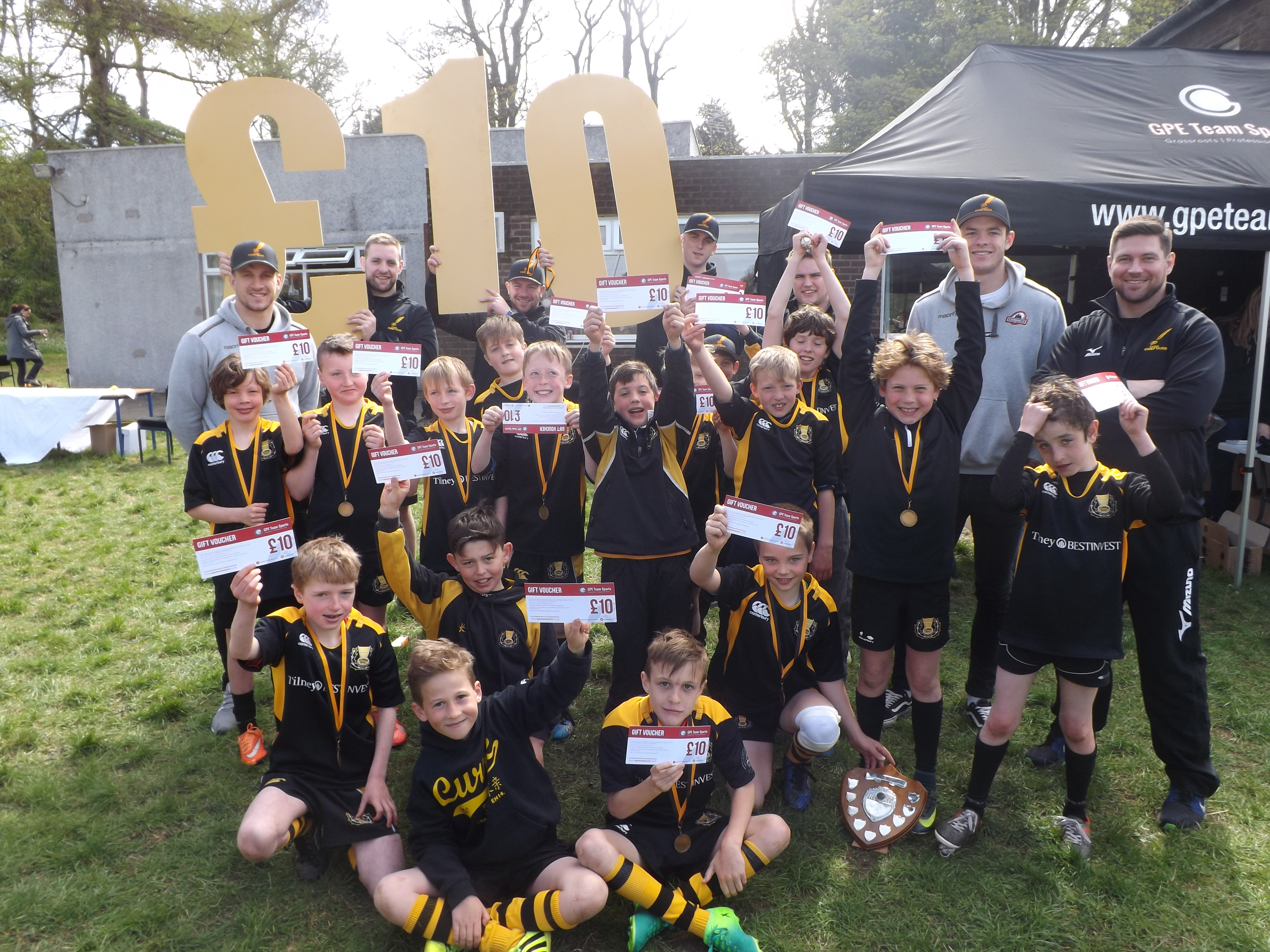 Property PR Strategy - Redeemable vouchers given to youths of Currie Rugby Club