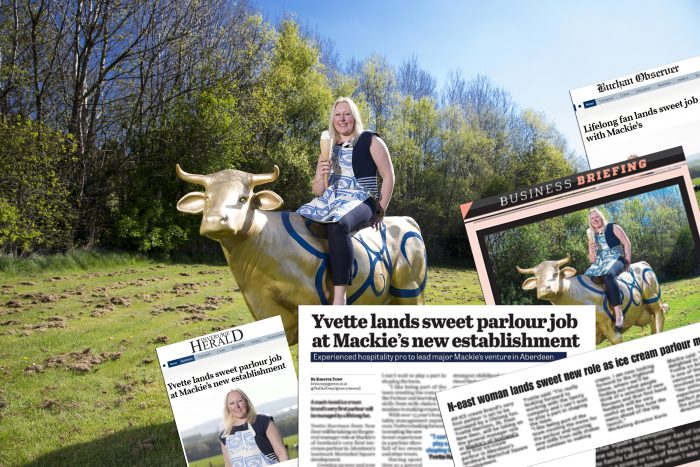 Yvette Harrison coverage montage from Food and Drink PR