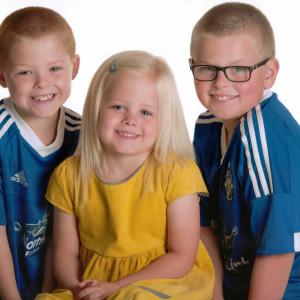 Charlie, Maisie and Bobby for Edinburgh PR