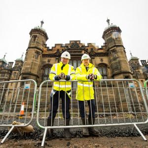 PR Photography at The Cresenct at Donaldson's College in Edinburgh, Scotland
