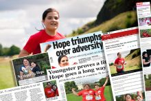 /></p> <div> <p>In the last episode of Holyrood PR TV, we told the story of Hope Gilmour, who was born with no hips and told there was a slim chance she would never walk. But has undertaken an incredible feat to defy the odds, by completing her first 5km fun run, to raise money for the <a href=