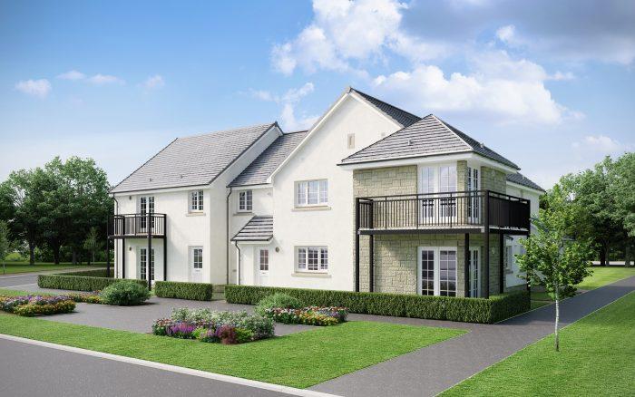 Roslin Cottages at Chapel Lawns picture for Edinburgh PR Agency