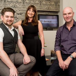 Jackie Partridge, Jarrod Partridge and Daniel Foxcroft. Edinburgh PR.