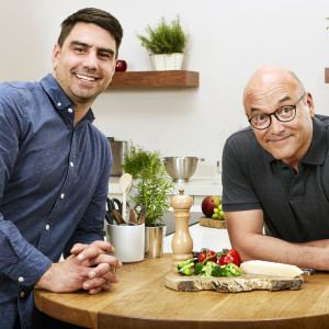 Chris Bavin and Gregg Wallace present Eat Well For Less? Which Mackie's will feature on- Food and Drink PR story