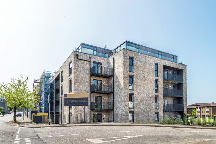 Scottish PR agency tells story of homebuilder's success at Ten Brunswick Road, Edinburgh