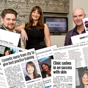 Jackie Partridge, Jarrod Partridge and Daniel Foxcroft helped by PR Experts in Scotland gained some great media coverage