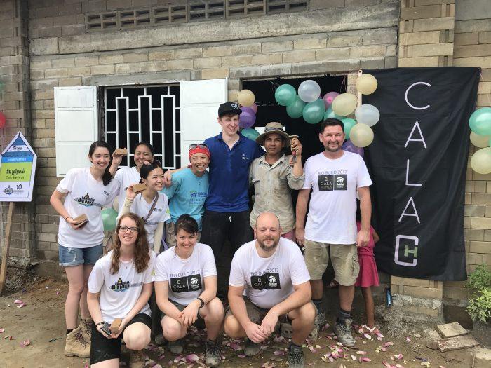 Edinburgh PR agency shares news of CALA employees in Cambodia