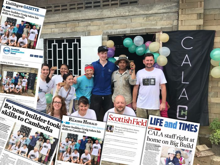 Scottish PR agency share story on CALA Homes in Cambodia