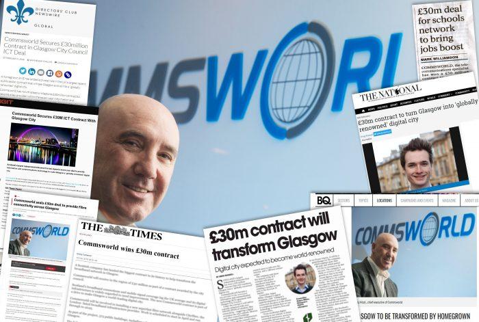 Commsworld's Glasgow news is Tech PR success