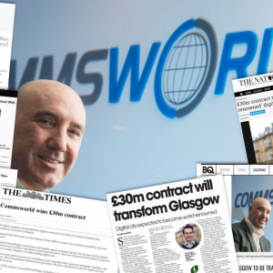 Ricky Nicol , Chief Executive of the telecoms company Commsworld Scottish PR agency Holyrood PR