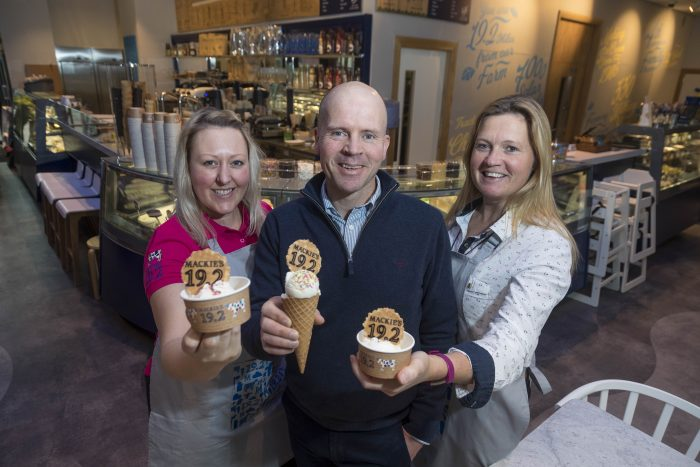 Mackies of Scotland ice cream parlour celebrates success thanks to food and drink pr experts