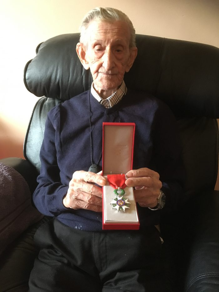 Scottish PR promotes war veteran's French honour