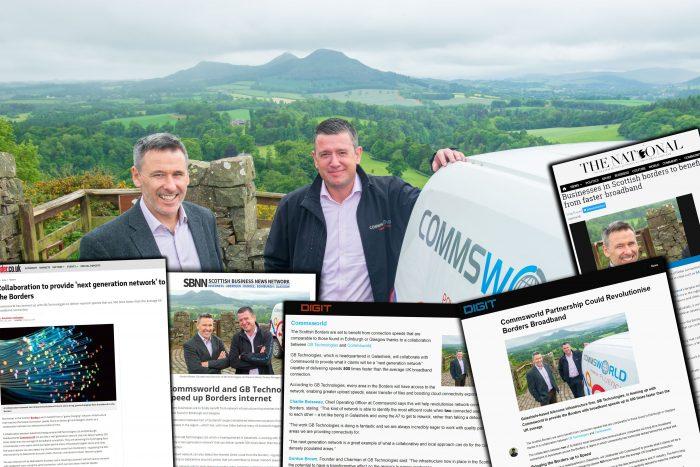 Commsworld Media Success Broadband   Scottish PR
