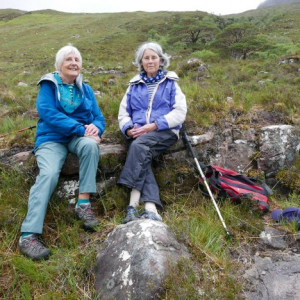 TWO Wester Ross women are celebrating over a decade of friendship with charity PR, thanks to their love of walking and the great outdoors