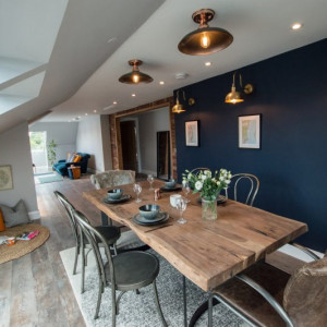 Property PR photography of The Penthouse in Tarbert, Argyll and Bute