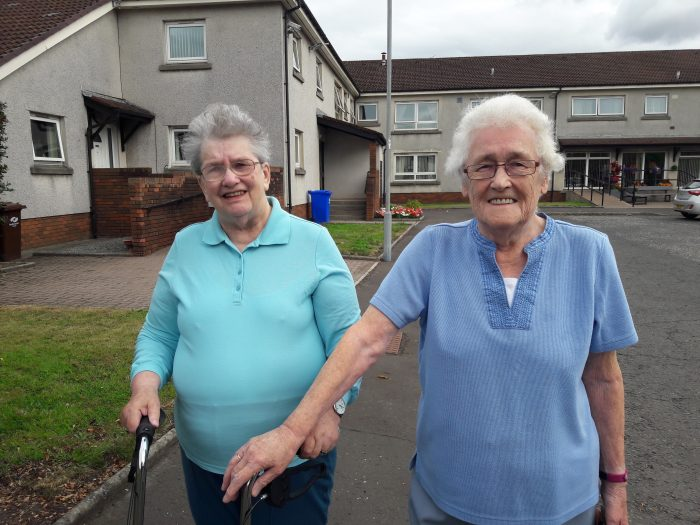 Charity PR promotes Scotland's walking charity, Paths for All's, story on Paisley pals who have found friendship through walking.