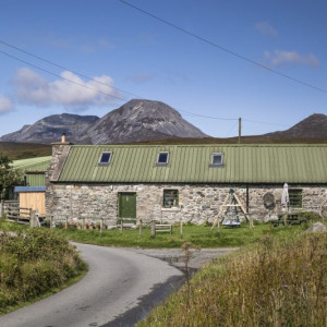Bell Ingram property PR photograph of the Bothy cottage