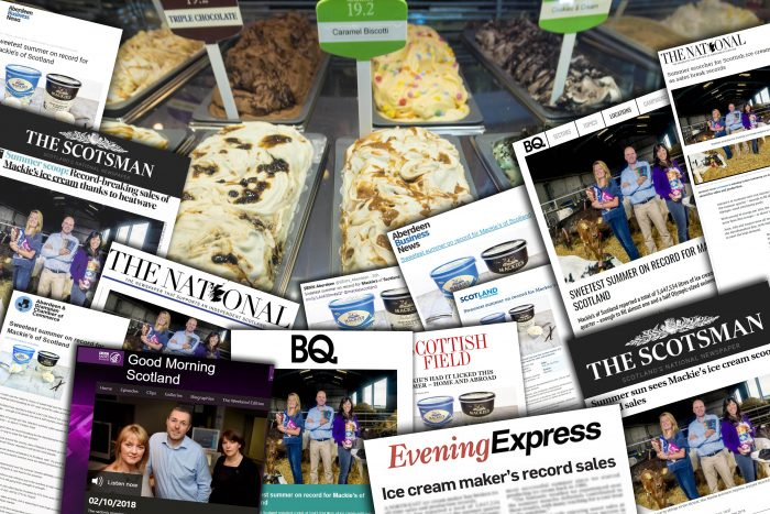 Mackie's scoops summer sales coverage with help of consumer pr