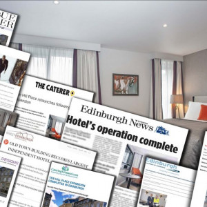Surgeons Quarter reopening Ten Hill Place a media success. Hotel PR in action