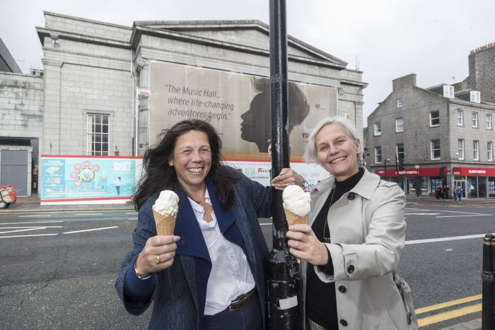Food and Drink PR team share story of Mackie's funding Aberdeen Performing Arts