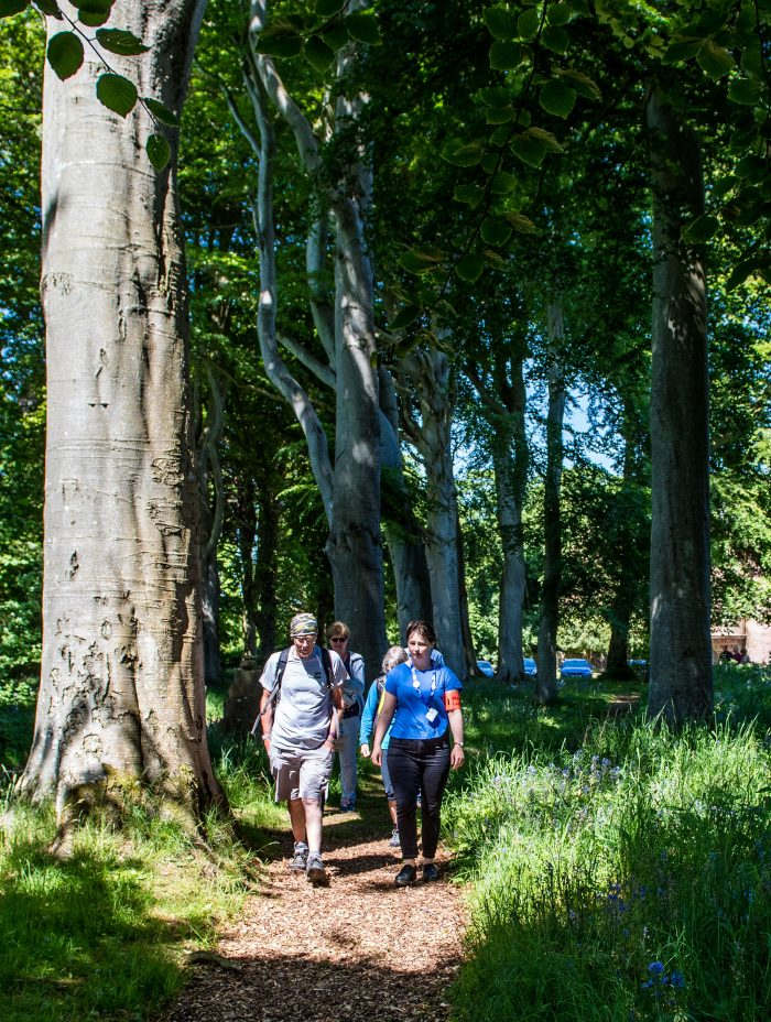 Charity PR promotes Paths for All's Know your Routes campaign across the country
