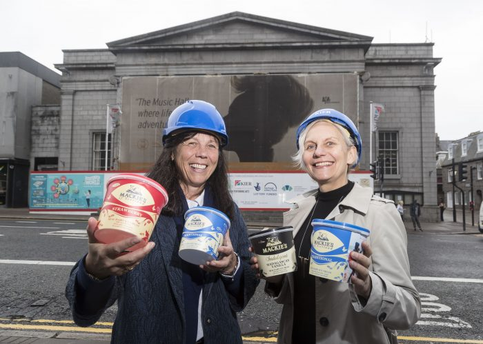 Food and Drink PR experts report on Aberdeen Performing Arts scooping £50,000 donation from Mackie's