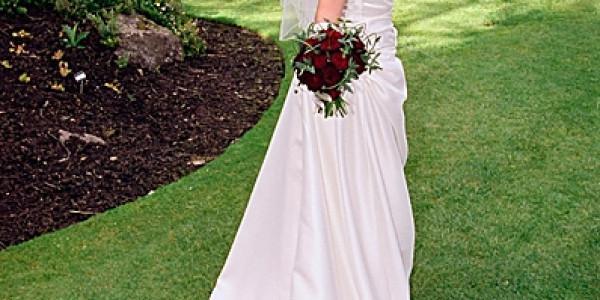 Hair and beauty PR photos of bride's dental treatment