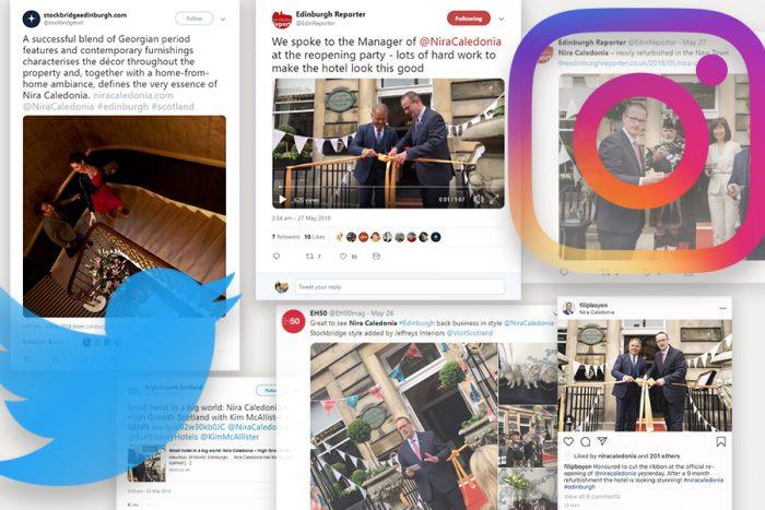 Social media success for Nira Caledonia as part of Hotel PR campaign